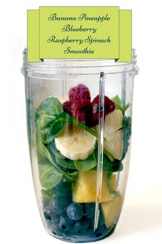 Healthy Smoothie Recipes: Healthy Smoothies For Weight Loss 2 cups spinach, fresh cup water cup orange juice 1 cup strawberries 1 cup blueberries 2 bananas Low Fat Smoothies, Smoothie Fruit, Smoothie Detox, Weight Loss Smoothies, Healthy Smoothies, Healthy Drinks, Healthy Eating, Healthy Recipes, Diet Drinks