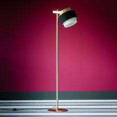 Lampadaire Silo de la marque Zéro Luminaire aux allures minimalistes