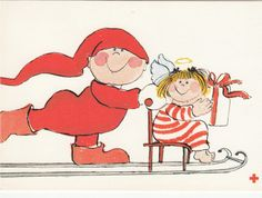 Virpi Pekkala Christmas Doodles, Christmas Angels, Winter Christmas, Bullet Journal Christmas, Dashing Through The Snow, Envelope Art, Winter Art, Scandinavian Christmas, Whimsical Art