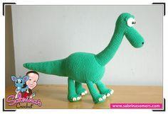 Gratis amigurumi haakpatroon om je eigen Arlo & Spot van Good Dinosaur te haken!