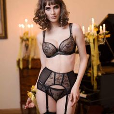 2b3ac6d5f3c Check out the deal on LACE OVERLAY CLEAVAGE BOOSTING PLUNGE BRA LAVINIA  SOFIA (LL0216). Lavinia Lingerie