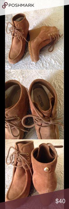 Michal Kors boots Very nice Kors boots with wedge heel Michael Kors Shoes Wedges