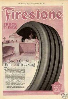 Firestone Tire 1917