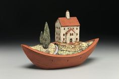 Holden McCurry, art house in a boat