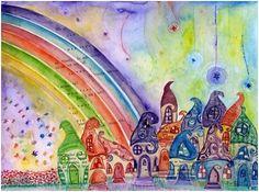Pinta tu aldea y pintarás el mundo. (Tolstoi)