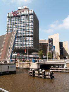 ING gebouw Leeuwarden,  'de paddestoel', Abe Bonnema.
