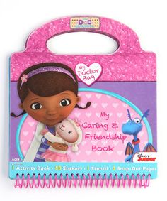 An extravaganza of stickers and activities await within the pages of this purse-shape pad. Made with a handle for easy toting, it comes with 50 stickers and plenty of Doc McStuffins-inspired pages of fun.