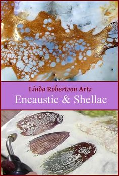 Shellac can be painted onto wax then super heated with a torch until it cracks, leaving an elegant organic finish that would be impossible to paint by hand. I emphasize…
