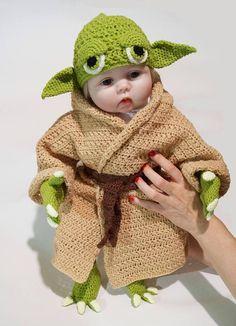 7b8e09eeecd0b Star Wars Infant Yoda Costume Crochet PDF Pattern