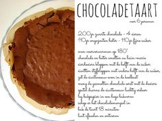 elisanna: chocoladetaart en wafels.