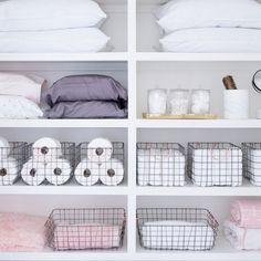 61 Ideas walk in closet organization diy wire baskets for 2019