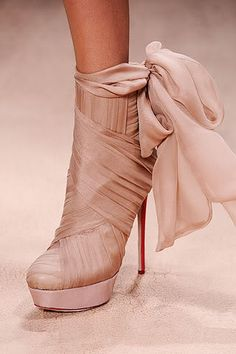 Valentino ~ I don't know that I've actually ever been in love with a shoe before :)