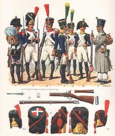 French Grenadiers and Voltigeurs, 1804-1813