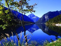 One of the most breathtaking places on earth.  Plansee, Austria