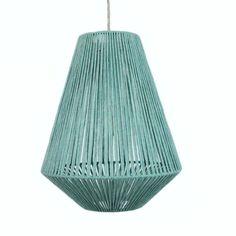 Contemporary hand-made British wool dip-dyed lighting. Diy Pendant Light, Lampshade Designs, Paper Lampshade, Bamboo Crafts, Geometric Star, Light Shades, Lamp Shades, Lamp Design, Lighting Design