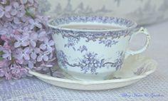 lilac tea