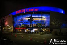 Staples Center-- home of the Los Angeles Lakers, L.A. Clippers, and the L.A. Kings