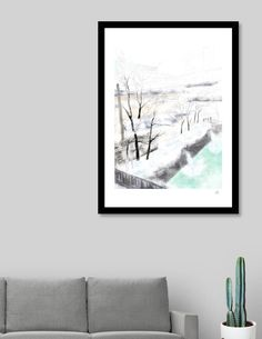 Discover «Hot Spring», Limited Edition Fine Art Print by Yasuko Maeda - From $29 - Curioos