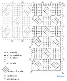 crochet free - nice geometrical squares out of which you can make almost anything!