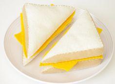 Felt Food- Grilled Cheese Sandwich on Etsy, $15.00