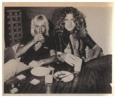 Robert Plant and Iggy Pop at Whiskey a Go Go, Los Angeles.