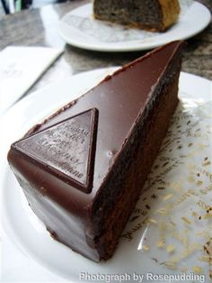 the original demel torte; chocolaty, nutty and pure magic