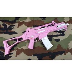 Umarex Heckler & Koch G36C Hot Pink Airsoft Gun Find our speedloader now! http://www.amazon.com/shops/raeind