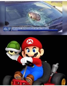 D*mmit Mario!