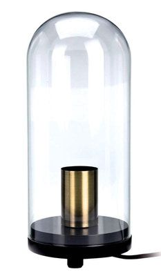 Deze vintage Cloche lamp vind ik een pareltje binnen een styling op een dressoir, in een open kast of op je bureau!