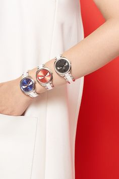Pass the time away with #FendiMonster timepieces at Saks. #SaksStyle