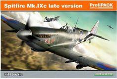 EDU08281 1:48 Eduard Spitfire Mk.IXc Late Version PROFIPACK MODEL KIT