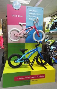 OLLO jetzt auch zum Anfassen: OLLOs 14 Zoll gibt es für kurze Zeit im Bike Park Timm (Winsen-Luhe). Probefahren, bremsen, Kurbel drehen, klingeln, hochheben - alles möglich! Und wer sich ins OLLO Design verliebt, kann vor Ort das Wunschrad online konfigurieren und bestellen. We like Bike Park Timm :)