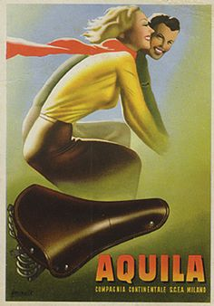 Aquila by Gino Boccasile - Vintage Boccasile Artist Gallery at I Desire Vintage Posters