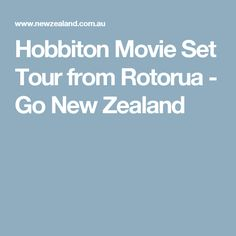 Hobbiton Movie Set Tour from Rotorua, New Zealand - Visit Hobbiton made famous by peter Jackson in the Lord of the Rings and Hobbit Movies New Zealand, Tours, Movies, Films, Movie, Film, Movie Theater