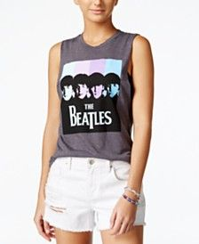 NTD Juniors' The Beatles Graphic Muscle Tank