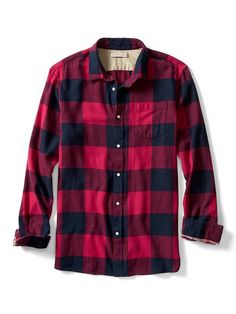 Heritage Grant-Fit Flannel Shirt