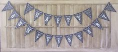 Happy Anniversary Banner by 2FeetUp on Etsy, $23.00