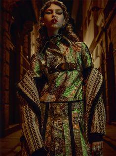 Lorena Maraschi wears Burberry