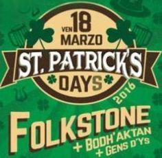 St. Patrick's Days @ Orion Live // 18 marzo 2016   Per maggiori informazioni sull'evento http://www.kickagency.com/produzione/st-patricks-days-orion-live-roma-2016/