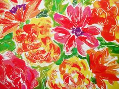 Bright Floral Texture by nopromises-stock.deviantart.com on @deviantART