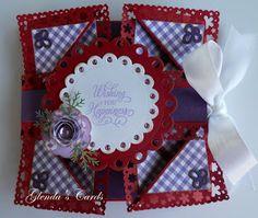 Glenda's Cards: Napkin Fold Card