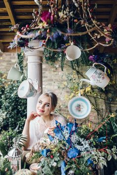 Whimsical, colourful and fun Alice in Wonderland Wedding Inspiration for the mod. - Whimsical, colourful and fun Alice in Wonderland Wedding Inspiration for the modern couple - Whimsical Wedding Theme, Alice In Wonderland Wedding Theme, Alice In Wonderland Garden, Alice In Wonderland Aesthetic, Whimsical Wedding Inspiration, Eclectic Wedding, Wonderland Party, Wedding Themes, Alice In Wonderland Photography