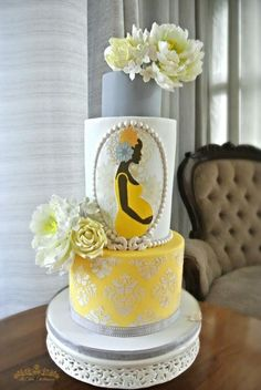 Mother Africa - Baby Shower Cake