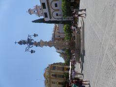Torre de la calle en Sevilla