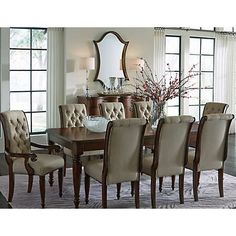 Cotswold Dining Collection Table 59999 Arm Chair 26999 Ea Side Brown FinishArt VanDining