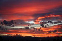 A Colorado sunset.