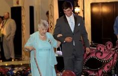 Did you go to your prom? For Delores Dennison, it's never too late!