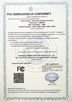 Self-balancing Scooter Certificate Electric Transportation, Intelligent Technology, Design Crafts, Certificate, Self