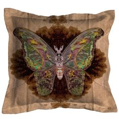 Timorous Beasties Cushions - Moth Blotch Cushion. Shop - Timorous Beasties - CRAZY BEAUTIFUL things here!!!