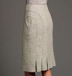 Ideas For Sewing Skirts Women Box Pleats Vogue Patterns, Clothing Patterns, Dress Patterns, Women's Clothing, Pencil Skirt Patterns, Clothing Catalogs, Skirt Outfits, Dress Skirt, Mode Inspiration